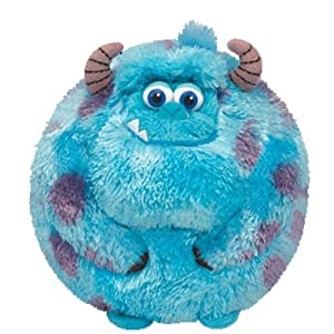 Disney TY Sulley - Small Size Ball Plush