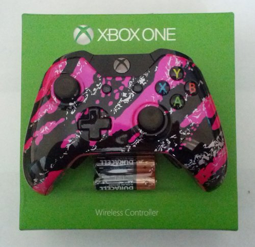 Custom Xbox One Controller - Pink SplatterVanossgaming Custom Controller Xbox One