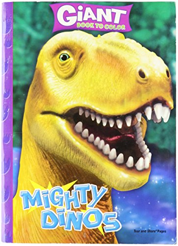 Mighty Dinos Giant Book to Color - 1
