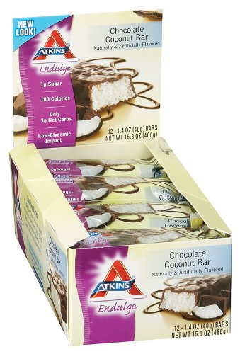 Atkins - Endulge Chocolate Coconut, 12 bars