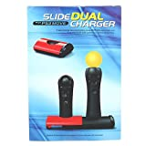 Move Dual Controller Charger Dock for Sony Playstation PS3