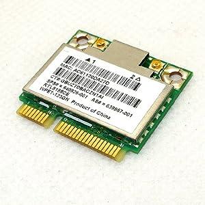 Genuine HP Pavilion Realtek RTL8188CE Half Hight Mini PCI-Express Wireless N WiFi Card 802.11 b/g/n 640926-001 639967-001