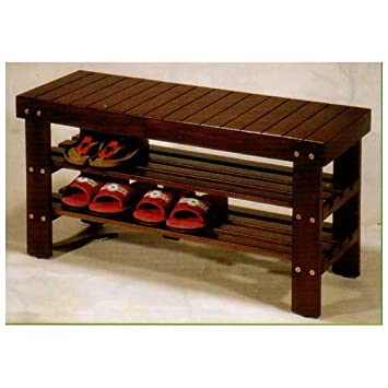 Wooden Storage Benches Indoor