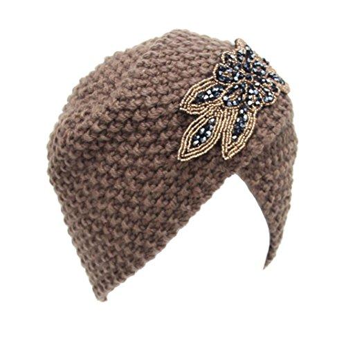 hut-winwintomr-womens-winter-warm-stricken-hakeln-ski-hat-braided-turban-kopfschmuck-cap-khaki
