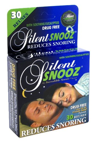 Silent Snooz With Soothing Eucalyptus Help Reduce Snoring