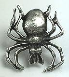 Spider arthropods Arachnophobia Hand Made Pewter Lapel Pin Badge