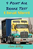img - for 4 Point Air Brake Test Cheat Sheet book / textbook / text book