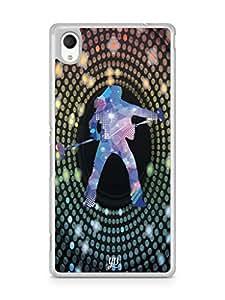 YuBingo Rock star Mobile Case Back Cover for Sony Xperia M4