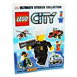 LEGO City - Ultimate Sticker Collection - (More than 1000 Reusable Full Colour Stickers) DK Publishing
