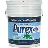 Purex Concentrate Liquid Laundry Detergent, Mountain Breeze, 5 gal. Pail - one 5-gallon pail.