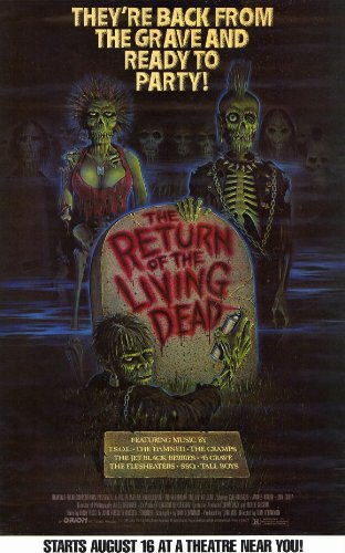 The Return of the Living Dead - Movie Poster - 11 x 17