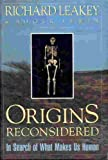 Origins Reconsidered: In Search of What Makes Us Human (0385412649) by Leakey, Richard E.