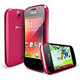 BLU Dash JR W D141w Unlocked GSM Dual-SIM Android Cell Phone - Pink