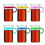 Bodum Bistro Nouveau 0.3L Coffee Glass / Tea Mug, Set of 6