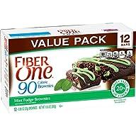 Fiber One Snacks Mint Fudge Brownies,…