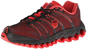 K-Swiss Men's Tubes Run 100 A Cross-Training Shoe,Red,6.5 M US