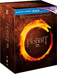 The Hobbit Trilogy (Limited Edition with Bilbo's Journal) [Blu-ray 3D + Blu-ray] [2012] [Region Free]