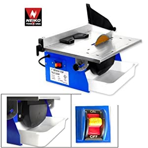 "7"" Inch Table Tile Wet Saw Cutter"