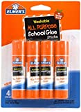 Elmer's Washable All-purpose School Glue Sticks, Mega Size Package, 90 Pack of 0.24 Oz Sticks (E556)