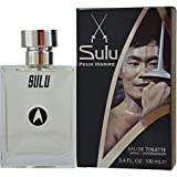 Star Trek Sulu For Men, 3.4 oz EDT *Free Name Brand Sample-Vials With Every Order**