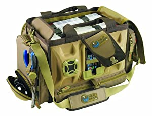 Wild River by CLC WT3701 Tackle Tek Rogue Stereo Speaker Bag with Four PT3700 Trays by Custom Leathercraft