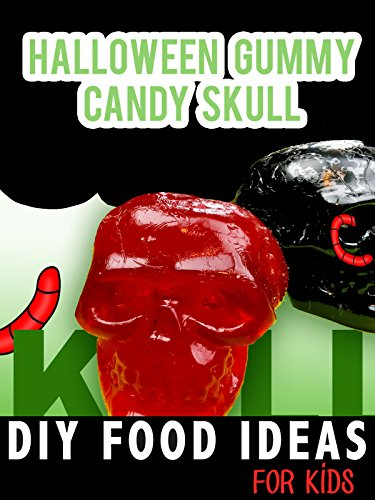 Halloween Gummy Candy Skull