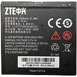 Original ZTE Warp N860 Battery Li3717T43P3h565751 - Non-Retail Packaging - Black