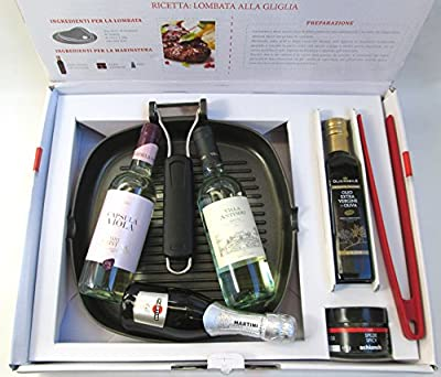 "VittleItaly: ""Chef à Porter"" Grill Set for Fish dishes [ Italian Import ]"