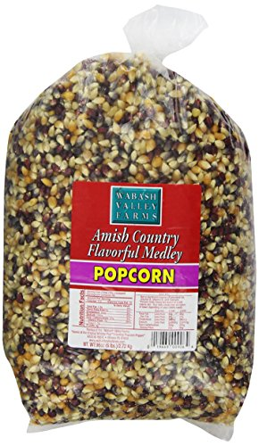 Wabash Valley Farms Amish Country Gourmet Popping Corn, Flavorful Medley, 6-Pound Bags (Pack of 3) (Indiana Corn compare prices)