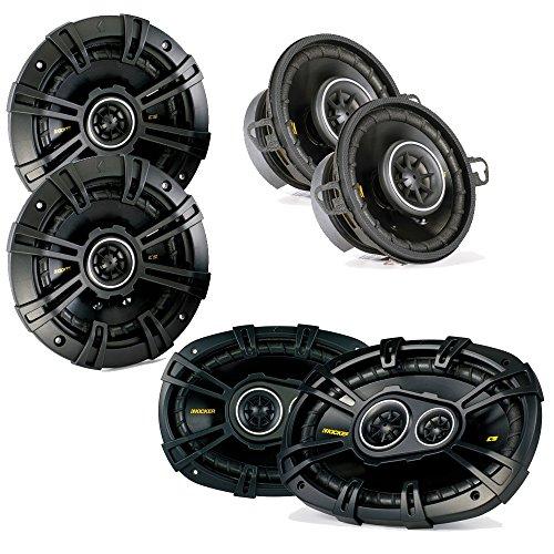 Kicker Dodge Ram Truck 2002-2011 speaker bundle- CS 6x9