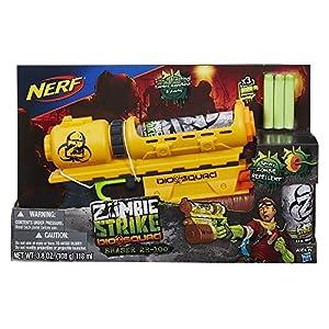 Nerf Zombie Strike Biosquad Zombie Eraser ZR-100 Blaster
