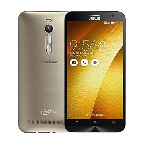Asus ZenFone 2 ZE551ML Smartphone 4G (Ecran: 5,5 Pouces - 32 Go - 4 Go RAM - Double SIM - Android 5.0 Lollipop) Or