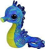 Toy - TY 36021 - Neptune - Seepferd mit Glitzeraugen und bunt glitzerndem K�rper, Glubschi's, Beanie Boo's, 15 cm, blau