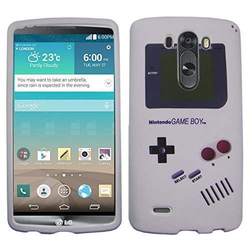 Click to buy IMAGITOUCH ® LG G3 D855 Ls 990 F400 D850, VS985, D851, 990 (Sprint, T Mobile, Verizon, AT&T international and Unlocked) Snap On Hard Case Cover Protective Gear Matte Skin - Old Retro Gameboy Game Boy Design - From only $19.95