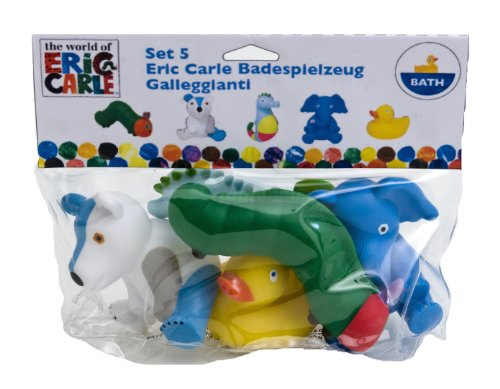 The World of Eric Carle: Bathtub Squirt Toys