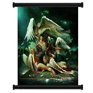 """Devil May Cry Anime Game Fabric Wall Scroll Poster (32"""" x 40"""") Inches"""