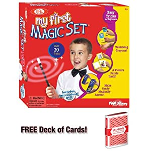 Ideal My First Magic Set w/Free Deck of Standard Playing Cards
