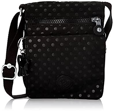 Kipling Eldorado, Women's Bag, Black (Black Dot Embossed), One Size