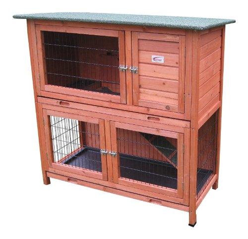 bunny-business-clapier-a-2-etages-avec-plateaux-coulissants-pour-lapin-ou-cochon-dinde-104-cm