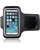 Brassard iPhone 5/5s/5c Armband Bracelet Sport pour iPhone 5 Jogging en Néoprène noir Bestwe