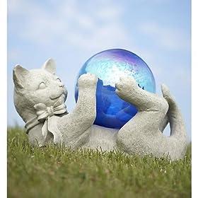 Tropix Cat Gazing Ball
