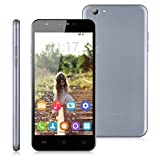 "Oukitel U7 Pro - Smartphone Libre 3g Android 5.1 (5,5"" IPS QHD, Quad Cores, 1G Ram, 8G Rom, Cámara 8Mp, Multi-Idioma, Wifi, GPS, Bluetooth, GSM), Gris"