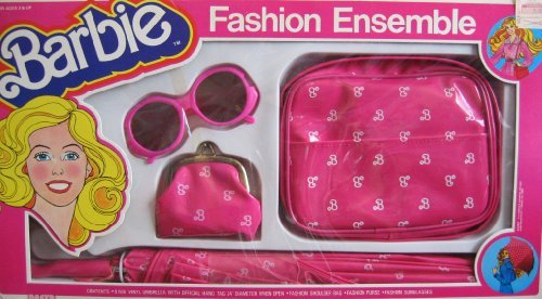 Barbie Fashion Ensemble CHILD SIZE w Umbrella, Shoulder Bag, Purse & Sunglasses