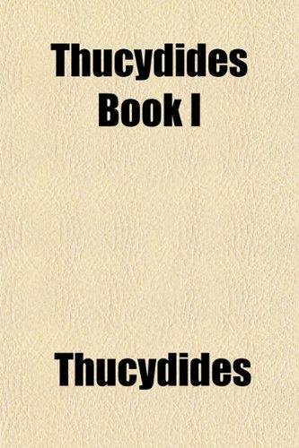 Thucydides Book I