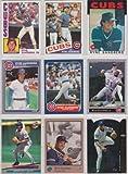Ryne Sandberg (9) Card Topps Baseball Lot #5 (Chicago Cubs)