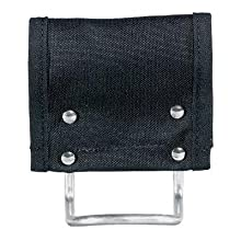 Klein Tools 5706 PowerLine Nylon Hammer Holder, Black