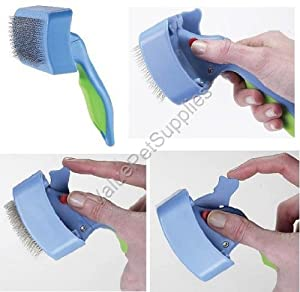 UGroom Self Cleaning Slicker Brush Sm