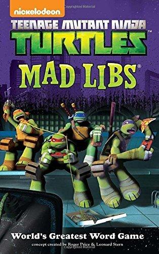 Teenage Mutant Ninja Turtles Mad Libs by Price Stern Sloan (2014-06-26) (Ninja Mad Libs compare prices)