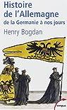 Histoire de l'Allemagne par Bogdan