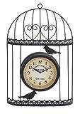 Deco 79 35419 Metal Outdoor Clock, 14 by 21-Inch